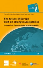 Titelseite Band 20: The future of Europe – built on strong municipalities: Impact of the European Union on local authorities