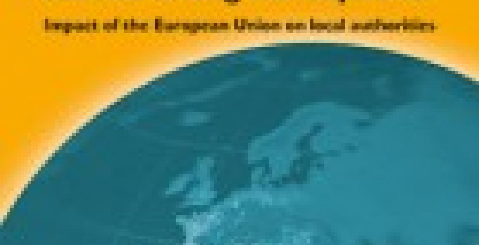 Titelseite Band 20:The future of Europe – built on strong municipalities: Impact of the European Union on local authorities